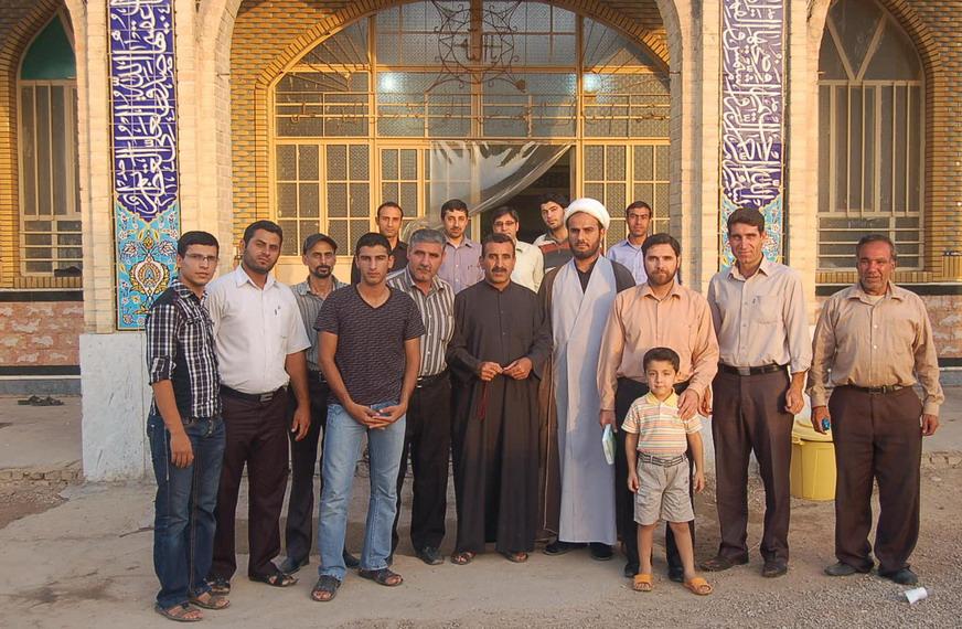 ورودی مسجد